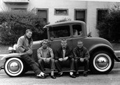 Teenagers and the Classic 1950s Car