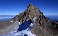 Mount Kenya. its big yeah?