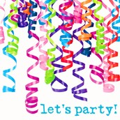 Partiers! CONGRATULATIONS on submitting at least 1 party this month!