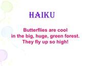 Haiku (example)