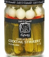 Sable & Rosenfeld Garlic & Dill Cocktail Stirrers ( 6 Pack)