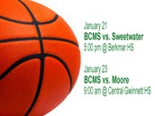 Come out and support BCMS!