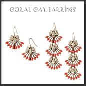 Corral Clay Earrings 2 in 1 $22