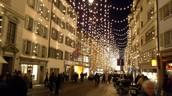 Bahnofstrasse la Nuit