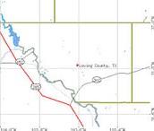 loving county maps