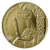 מדליית זהב דבורה הנביאה