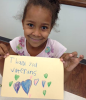 KPS students show their thanks to veterans