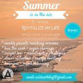 8-week *REVITALIZE MY LIFE* Wellness Program