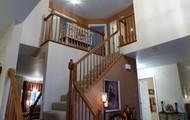 Open 2 Story Foyer.