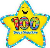 Kindergarten 100th Day Celebration and Poster Project