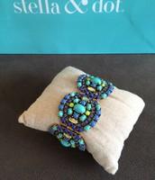 SOLD Sardinia Bracelet Blue $40