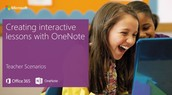 Creating Interactive Lesson in OneNote