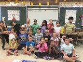 Acting silly and having fun in 2nd grade!