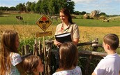 Zoo Director Teaching a Class