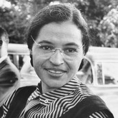 Rosa Parks was arrested for not giving up her seat to a white man