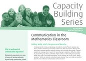 Monographs:  Capacity Building Series