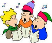Join us for Caroling December 9th at 5:30