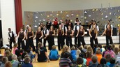 Chamber Choir and Noteworthy performed at all 3 Elementary Schools and Middle School