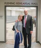 Mike & Mary - Fleming Hall