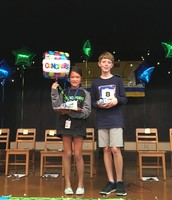 Geography Bee Champion and Runner-Up