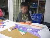 Creating art Seuss style!
