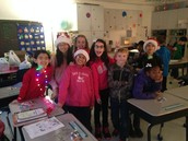It was a very Happy Holiday in room C-11!