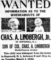 A wanted poster for the baby