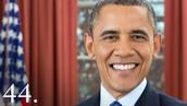 Our current president Barack Obama