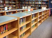 Media Center -- Time to start checking in those books!