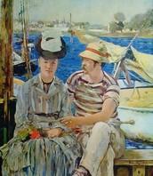 Argenteuil, Manet, 1875