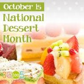 National Dessert Month