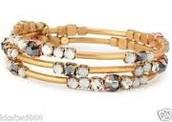 Isabelle Wrap Bracelet - Gold
