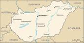 Hungary's Map