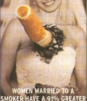 Don't marry a smoker