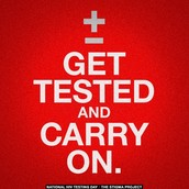 GET TESTED!