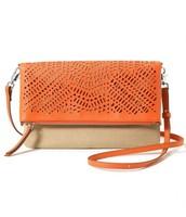 The Waverly in fresh orange / natural linen