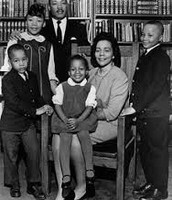 Martin Luther King's family.