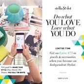 Kendall Marie Platt Independant Stylist with Stella&Dot