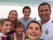 Chris Stricker & Family (Science Dept)