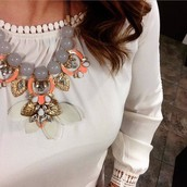 Riviera....make a statement with my favorite necklace!