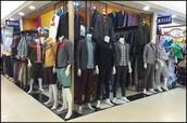 Fui al centro comercial para conseguir ropa nueva