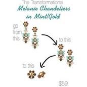 MELANIE CHANDELIERS - $35