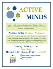 Active Minds - National Eating Disorder Awareness Week