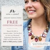 January Merch Incentive