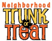 Join us on Saturday, October 31st for a lil' Community Trunk or Treatin'