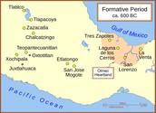 Major Olmec cities