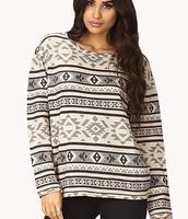 Chic Tribal Print Sweatshirt $19.80