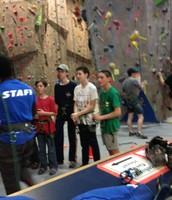 Climbing merit badge