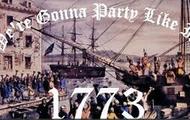 The Boston Tea Party!
