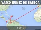 Balboa's Route